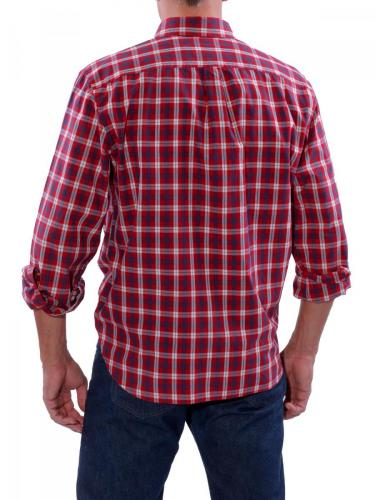 Dockers Americana Shirt rio red