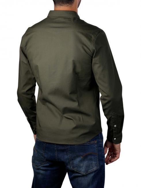 Lee Western Shirt dark army green
