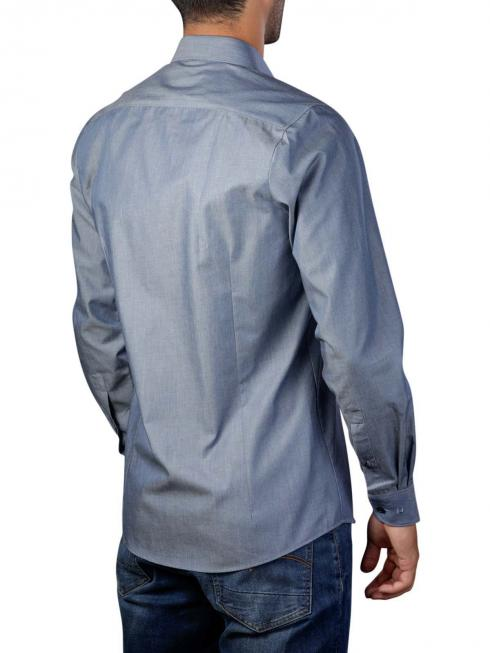 Olymp Shirt ls light blue