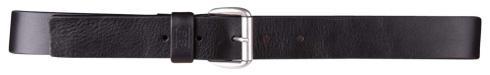 Charlie black 40mm by BASIC BELTS