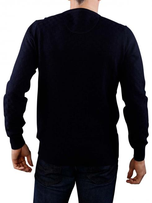 Fynch-Hatton O-Neck Pullover navy