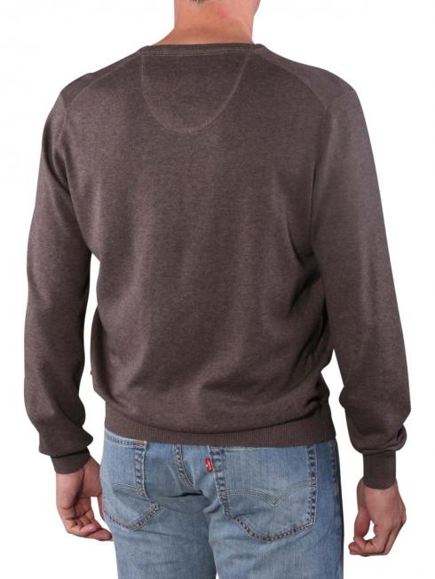 Fynch-Hatton V-Neck Sweater earth