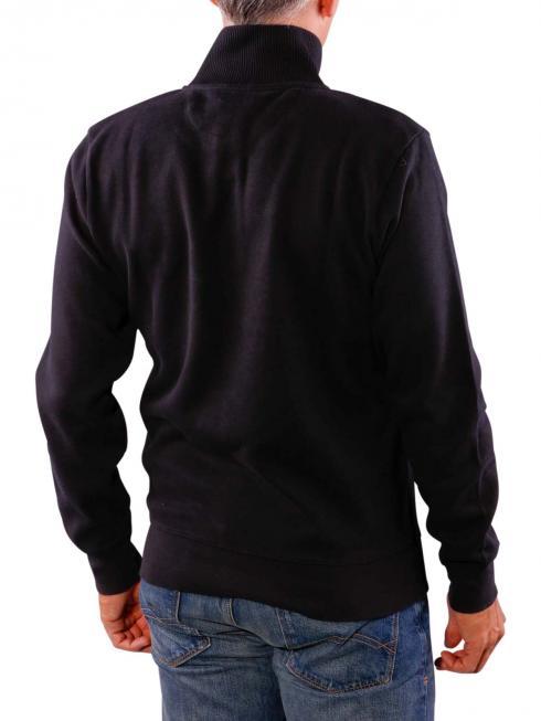 Gant Sacker Rib Half Zip black