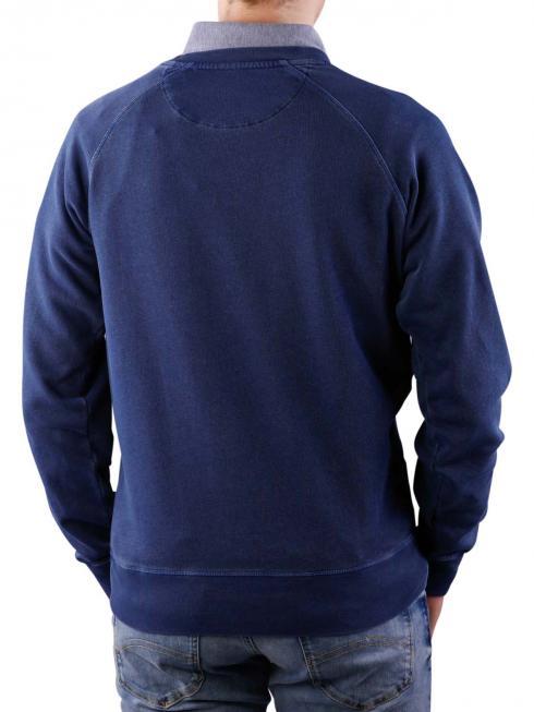 Gant Sunbleached Crew Neck Sweat persian blue