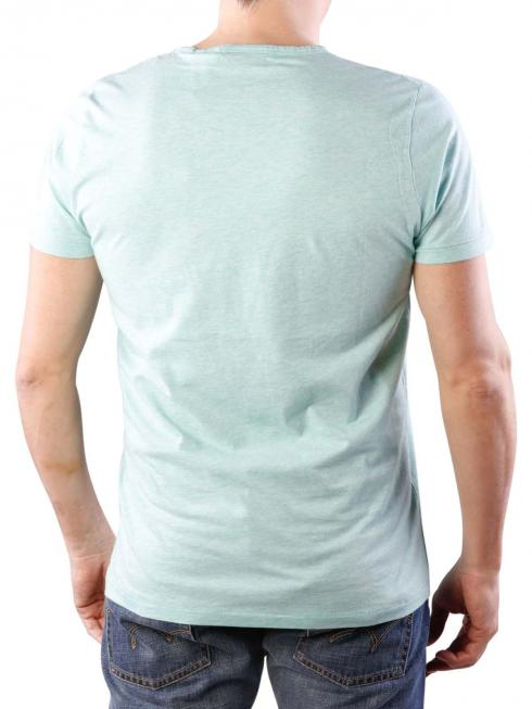 Gant O2 East Coast SS T-Shirt opal green melange