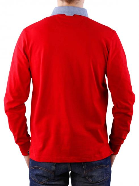 Gant The Original Heavy Rugger bright red
