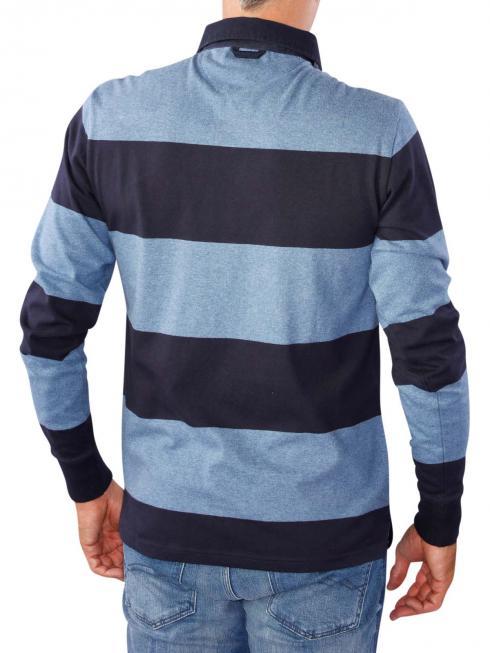 Gant The Original Barstripe Heavy Rugger denim blue melange