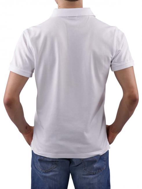 Gant The Original Pique SS Rugger Polo Shirt white