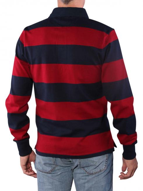 Gant Barstripe Heavy Rugger mahogny red
