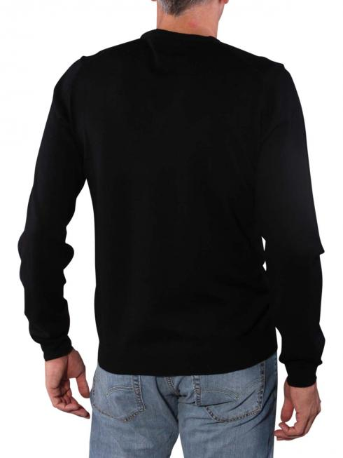 Gant Solid Merionowool Sweater black
