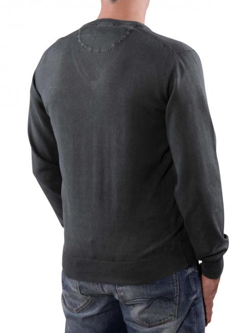 Gant Antique Cotton V-Neck graphite