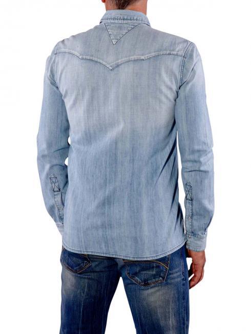 Tommy Jeans Gratton Shirt light blue