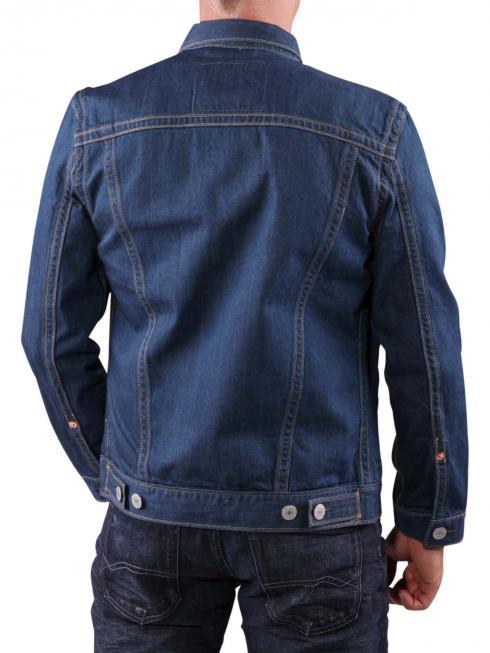 Levi's Trucker Double Stitch Jacket green rigid