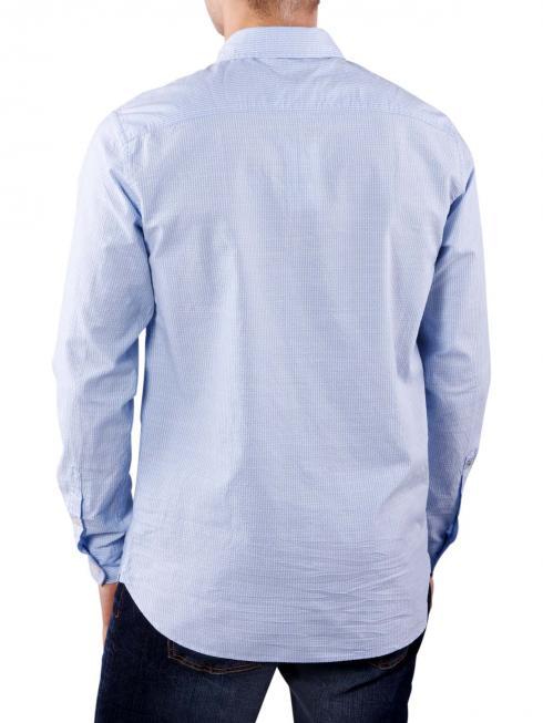 Pepe Jeans Date Slub Stripe Dobby regent blue