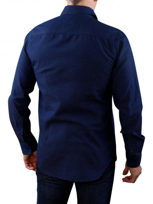 Pepe Jeans Jayden Ticking Stripe Shirt blue