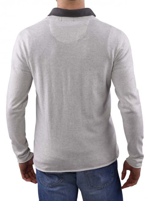 Pepe Jeans Nero Fine Slub Knit grey marl