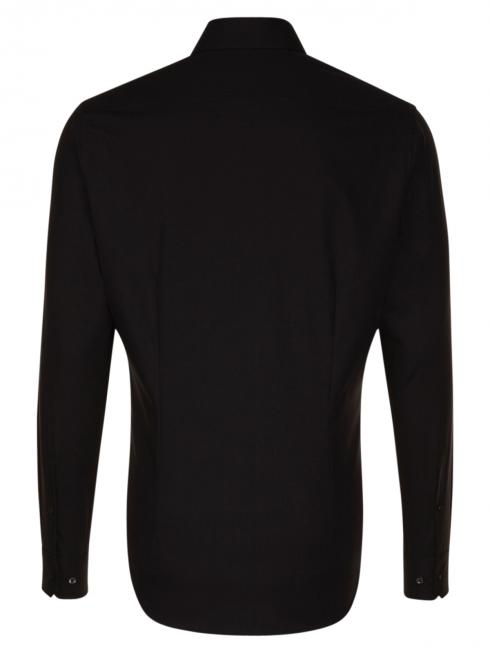 Seidensticker Hemd Shaped Fit Kent ELA bügelfrei black