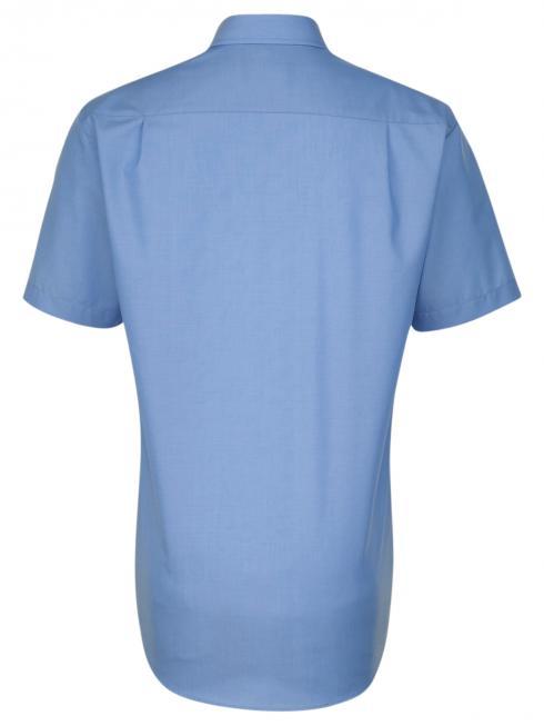 Seidensticker Shirt Regular Fit Kent non iron blue