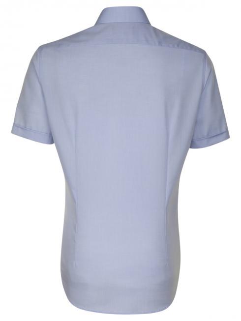 Seidensticker Shirt Shaped Fit Kent non iron light blue
