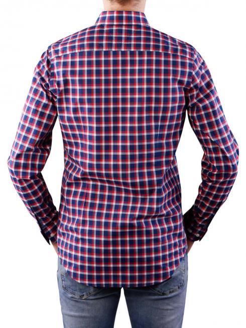Tommy Hilfiger Lance Checked Shirt navy/tomato