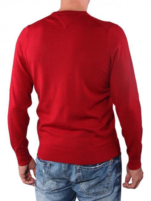 Tommy Hilfiger Premium Wool grenat heather
