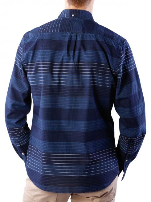 Wrangler LS 1 PKT Button Down Shirt dark indigo