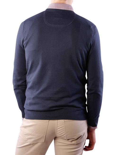 Wrangler Fine Gage Crew Knit Pullover real navy