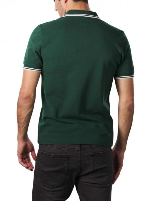Fred Perry Polo Piqué ivy/snow white