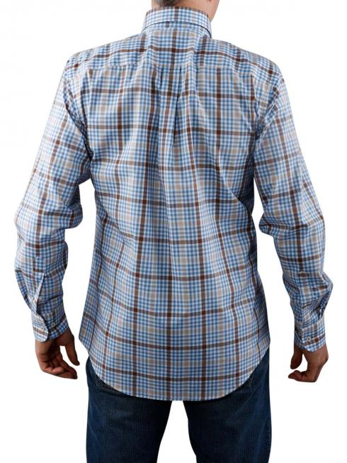 Fynch-Hatton 2-Tone Combi Shirt brown