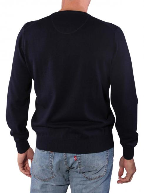 Fynch-Hatton O-Neck Sweater navy