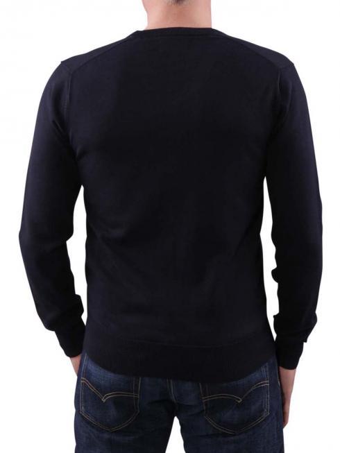 Gant Light Weight Cotton V-Neck dark denim