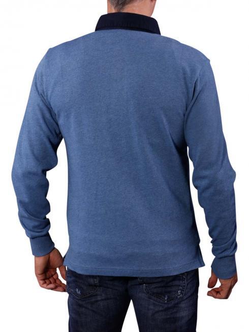 Gant Solid Heavy Rugger oceanside blue
