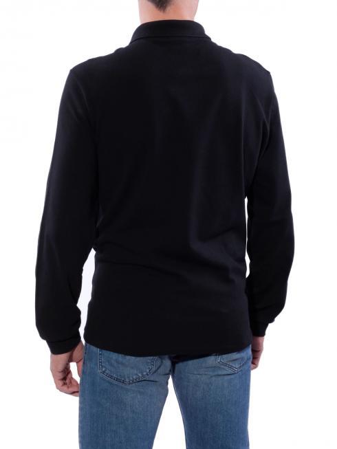Lacoste Polo Piqué black longsleeve