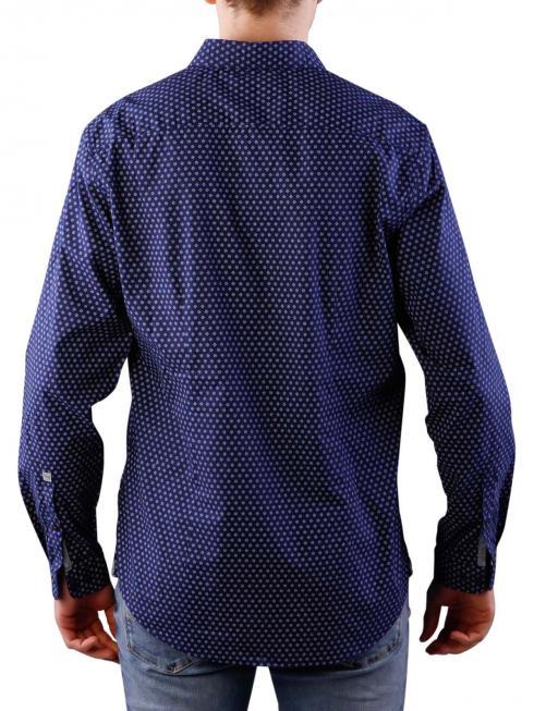 Pepe Jeans Coates Blues Printed Poplin naval blue