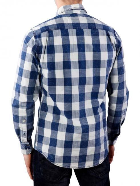 Pepe Jeans Albamont Check indigo dyed