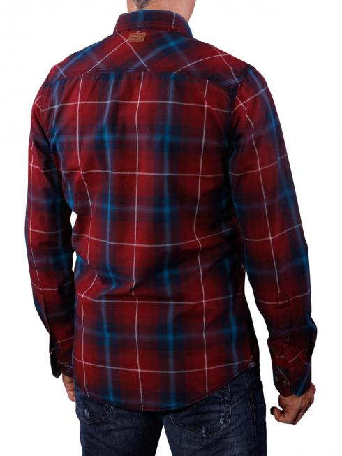PME Legend Check Anvik Shirt tawny port