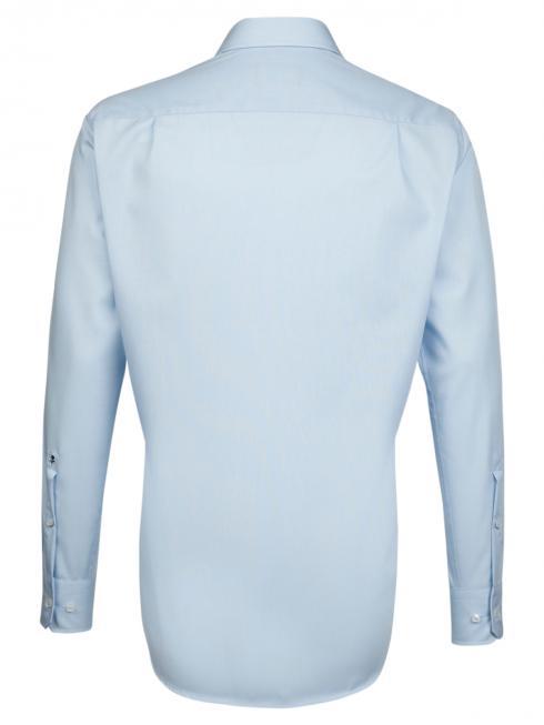 Seidensticker Hemd Regular Fit Kent bügelfrei light blue