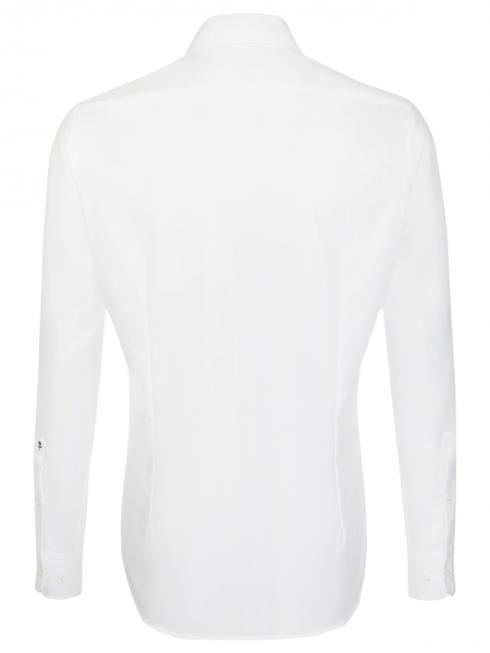 Seidensticker Hemd Shaped Fit Kent bügelfrei white