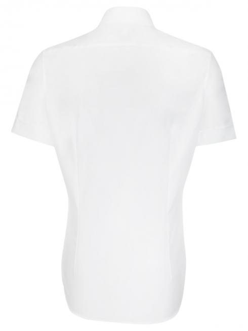 Seidensticker Shirt Shaped Fit Kent non iron white