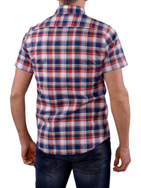 Tommy Hilfiger French Check Shirt navy/red