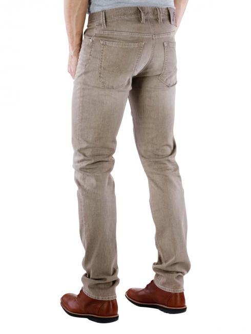 Alberto Pipe Pant Superfit brown melange