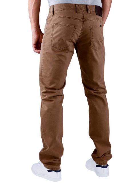 Alberto Pipe Pant Broken Twill brown