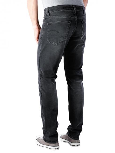 G-Star 3301 Straight Tapered Soot Black Stretch faded charc