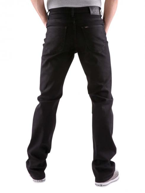 Lee Brooklyn Straight Jeans clean black