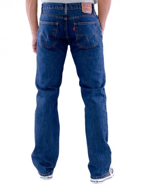 Levi's 505 Jeans dark stonewash (zip)