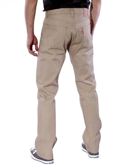 Levi's 501 Jeans Shrink-to-Fit sand rigid