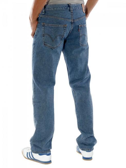 Levi's 505 Jeans Big&Tall stone (zip)