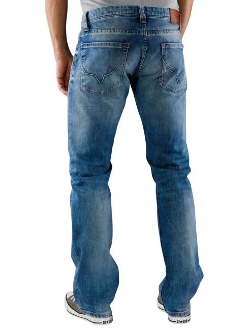 Pepe Jeans Kingston Straight Fit washed blue denim