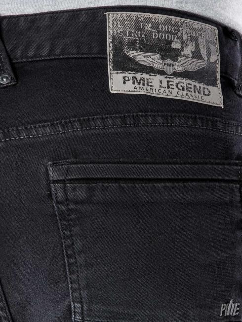 PME LEGEND Nightflight Black Faded Stretchélégants Pantalons pour homme