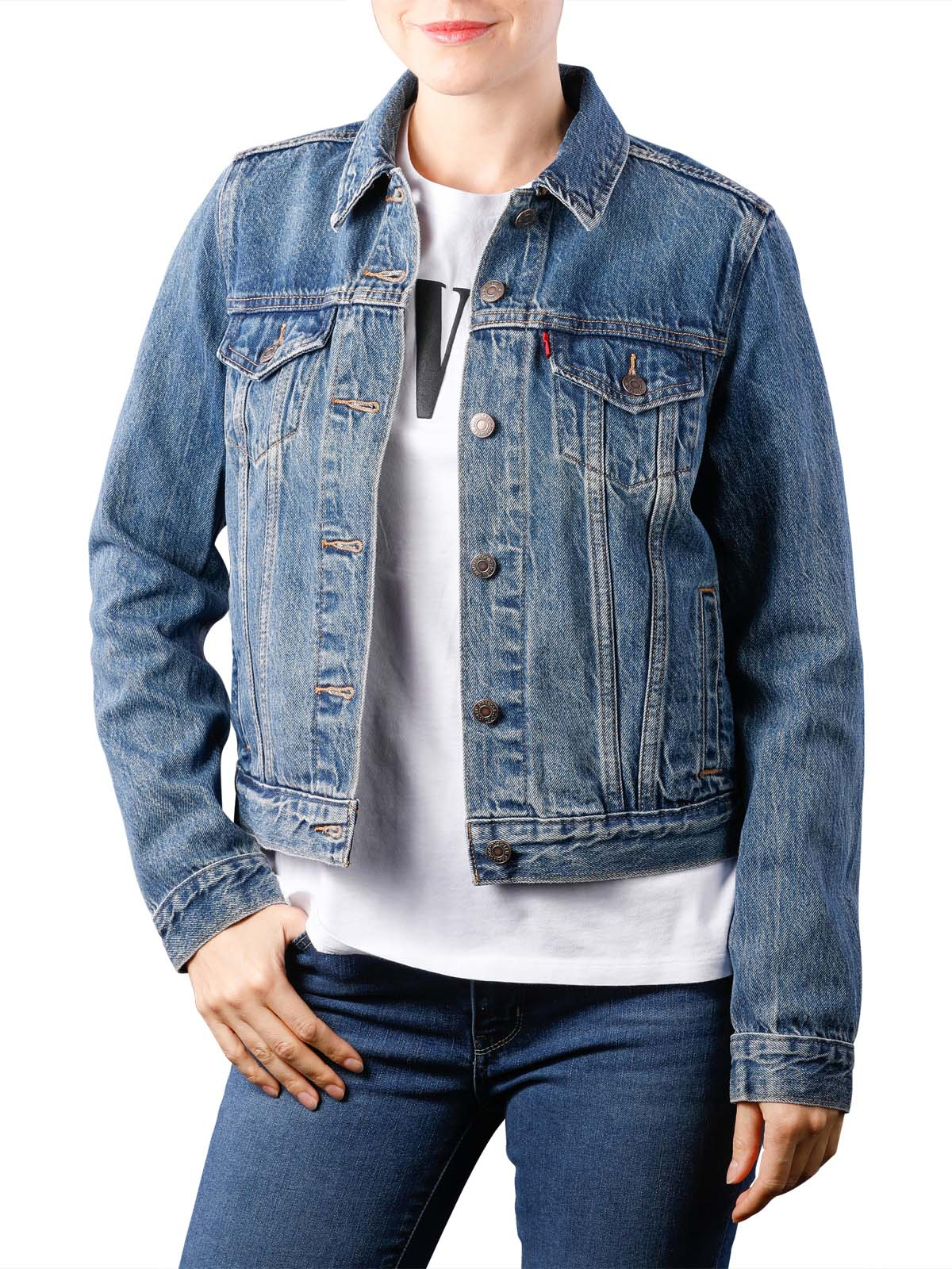 Levi's Original Trucker soft as butter Levi's Damen Jacke